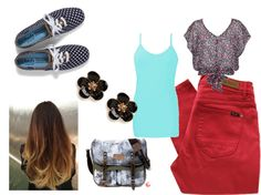 """Cute School Outfit"" by kitkatrocker ❤ liked on Polyvore"