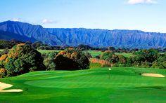 Hole #17 - Prince Course at Princeville Golf Club Visit: www.princeville.com