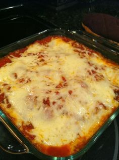 Healthy Eggplant Parmesan Bake - Low calories, NO Meat! #vegetarian #italian   Best Recipes for Dinner
