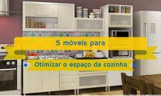 5 móveis para otimizar o espaço da cozinha