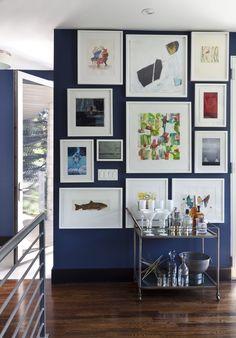 2015 Denver Designer Show House Color Side Dining Room Design By Duet Group