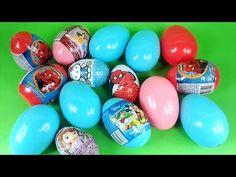 easter surprise eggs kinder spiderman huevos sorpresa cars frozen