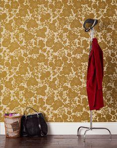 Hygge & West wallpaper   Garden (Cream/Gold)