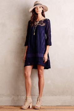 Laced Augusta Dress - anthropologie.com