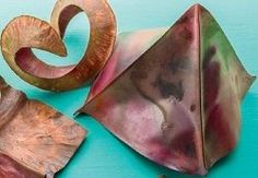 Moving, Stretching, and Fold-Forming Metal, Plus How to Fabricate a Metal Leaf - Jewelry Making Daily - Blogs - Jewelry Making Daily