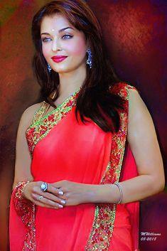 Aishwarya Rai Makeup, Aishwarya Rai Photo, Actress Aishwarya Rai, Aishwarya Rai Bachchan, Bollywood Actress, Beautiful Indian Actress, Beautiful Actresses, Aishwarya Rai Wallpaper, Kareena Kapoor Saree