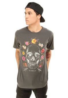 Obey Clothing Reincarnation T-Shirt - Graphite $31.00