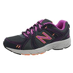 brand new 5e4c0 f6533 New Balance Womens WE402V1 Running Shoe Dark GreyPink 7 B US  Click on the  image