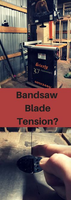 Use this simple method to set your bandsaw up everytime