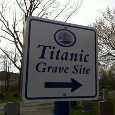 Titanic Grave site, located in Fairview Cemetery, Halifax, Nova Scotia - many of the victims are buried here.