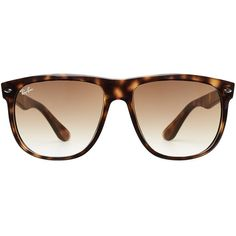 Ray-Ban Tortoise Shell Oversized Sunglasses ($145) ❤ liked on Polyvore featuring accessories, eyewear, sunglasses, black, tortoise shell sunglasses, tortoiseshell glasses, tortoiseshell sunglasses, ray ban sunnies and gradient lens sunglasses