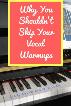 """Despite what you may have heard, those """"silly"""" vocal warm-ups are actually important. Regularly practicing vocal warm-ups will improve your tone production. Singing Lessons, Singing Tips, Editing Writing, Writing A Book, Vocal Warm Up Exercises, Voice Warm Ups, Vocal Warmups, Blurb Book, Workout Warm Up"""