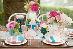Pink And Turquoise Wedding Ideas — Wedding Ideas, Wedding Trends, and Wedding Galleries