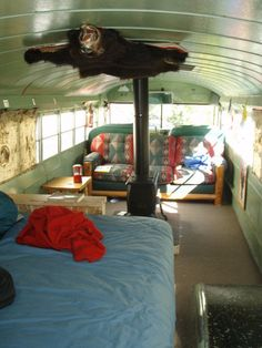 What you can do with an old school bus