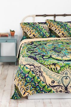 Painted Mandala Quilt at Urban Outfitters