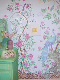 Chinoiserie stencils from stencil-library.com