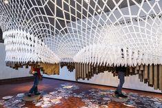 pratt institute's graduate exhibition 2014 displays work on floating platform
