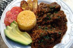 Seco de chivo or Ecuadorian goat stew