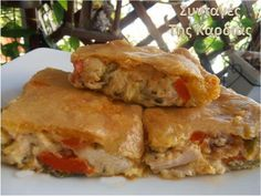 Cookbook Recipes, Cooking Recipes, Greek Recipes, Good Food, Food And Drink, Bread, Chicken, Ethnic Recipes, Greek Beauty