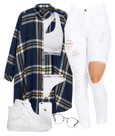 """♡"" by ishalaellis ❤ liked on Polyvore featuring Monki, Calvin Klein, Calvin Klein Underwear, 3.1 Phillip Lim and Vans"