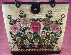 Enid Collins ~ Flower Basket VI bag