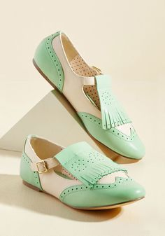 Kiltie With Kindness T-Strap Flat | ModCloth