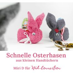 Schnelle Osterhasen aus Seiftüchern - Näh-connection Miri D. for sewing connection: This way you can fold a cute Easter bunny out of small towels in just a few minutes. The perfect last minute Easter Origami Diy, Cute Bear, Cute Easter Bunny, Easter Projects, Holiday Break, Love Pet, Appreciation Gifts, Gifts For Him, Diy Gifts