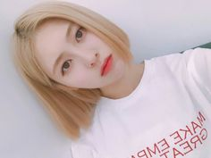 don't you just love Yebin's new hairstyle?