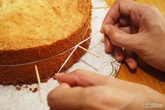 Cut a Cake Layer in Half