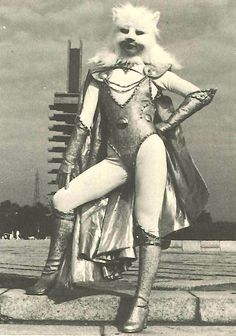 Space Cat Vixen  王女ラブ シルバージャガー