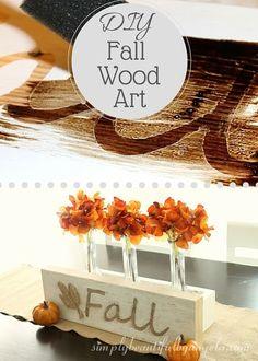 Simply Beautiful By Angela: DIY Fall Wood Art