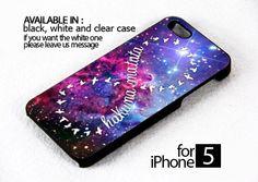 AJ 618 Hakuna Matata Infity Galaxy Fox Fur Nebula - iPhone 5 Case | FixCenter - Accessories on ArtFire