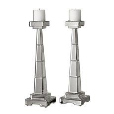 Uttermost Alanna Candleholders - Set of 2