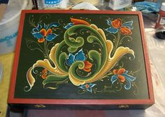 """rosemaling   ... , you can help by collecting """"Rosemaling 3"""" with similar deviations"""