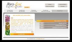 Réalisation site internet - AVOFISC - http://www.avofisc.com