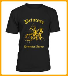 Princess Protection Agency Gold Foil Effect TShirt - Affen shirts (*Partner-Link)