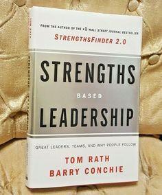 Strengths Based Leadership by Tom Rath and Barry Conchie Hardcover 9781595620255 #Textbook