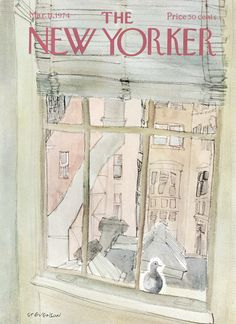 The New Yorker - Monday, March 11, 1974 - Issue # 2560 - Vol. 50 - N° 3 - Cover by : James Stevenson