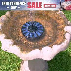 Fountain Head, Bird Fountain, Fountain Garden, Solar Powered Fountain Pump, Small Backyard Patio, Lily Pond, Layout, Spring Garden, Outdoor Gardens