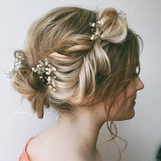 Ulyana Aster Romantic Long Bridal Wedding Hairstyles_24 ❤ See more: http://www.deerpearlflowers.com/romantic-bridal-wedding-hairstyles/