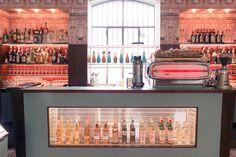 Inside Look: Prada's Wes Anderson-Designed Bar in Milan | HUH.