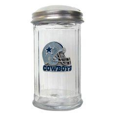 NFL Dallas Cowboys Sugar Pourer by Siskiyou. $22.17. Officially Licensed NFL Merchandise. Glass Sugar Pourer. Diner Replica. NFL  Sugar Pourer