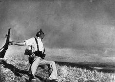 El Miliciano, Robert Capa. Guerra Civil Española.