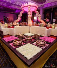 Indian wedding mandap decor