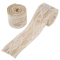 Diy Craft Supplies Home & Garden 2yards 18mm Natural Hessian Jute Twine Hemp Rope Party Wedding Gift Wrapping Burlap Ribbon Diy Scrapbooking Craft Decorate