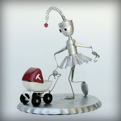personified robot sculpture - Google Search