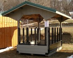 Horse Barns, Run-in Sheds & Hay Feeders - Capitol Sheds