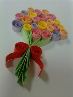 Top For Easy Paper Quilling Flowers If you are looking for Easy paper quilling flowers you've come to the right place. We have collect images about Easy paper quilling flowers including . Origami Rose Modular Easy Paper Rose Ideas For Christmas Paper Quilling Cards, Arte Quilling, Quilling Birthday Cards, Paper Quilling Tutorial, Paper Quilling Flowers, Paper Quilling Patterns, Origami And Quilling, Quilled Paper Art, Quilling Craft