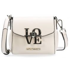 wardow.com - #LoveMoschino, Love-Lock Schultertasche elfenbein #bag #wedding #bride