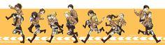 SNK - RUN! RUN! RUN! by MONO-Land.deviantart.com on @deviantART